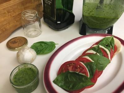 Caprese and Pesto