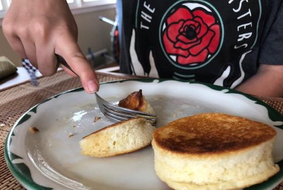 Pancakes for Sammy